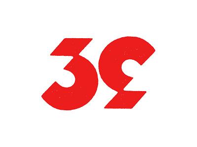 39 Ambigram numbers 39 ambigram typography logotype monogram mark symbol logo
