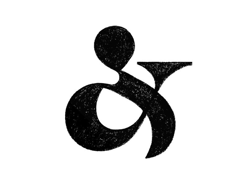 & typography ampersand letter symbol mark logo