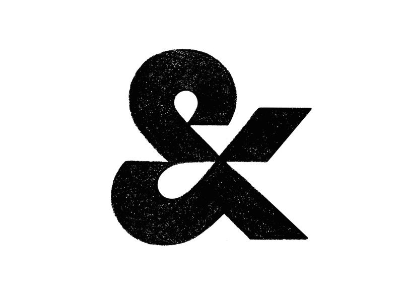 & ampersand typography logotype symbol mark logo