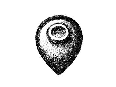 Pin+Qvevri (Amphora) sketch icon qvevri pin amphora logo mark symbol symbol mark logo