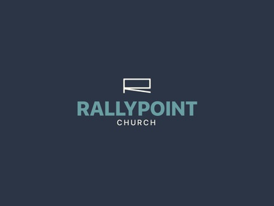 Rallypoint Church brand and identity vector churchmedia church graphic graphic  design church media logo logo design church branding branding