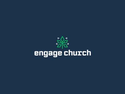 Engage Church Goshen church graphic brand and identity illustrator church design graphic  design church media logo design church branding logo branding