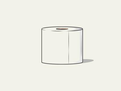 Items of Quarantine: TP toiletpaper icon typography vector graphic  design illustration design church media illustrator