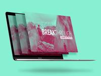 Breakthrough Sermon Series Design
