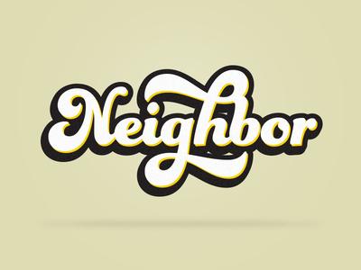 Neighbor Sermon Series Concept