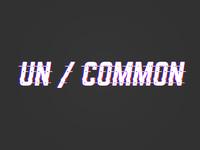 Uncommon Logo Design
