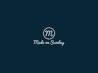 Made On Sunday Apparel Logo