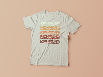 Richmond VA T-Shirt Deisgn