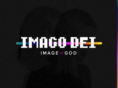 Imago Dei: Image of God church marketing church design image of god imago dei event branding event logo church logo church media