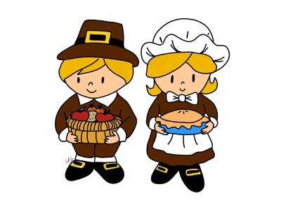 Pilgrims kawaii illustration procreate happy thanksgiving thanksgiving day thanksgiving pilgrim
