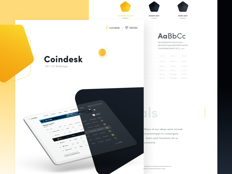 CoinDesk – Behance Case Study behance case study uxui ux interface website design cryptocurrency crypto