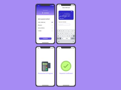 #DailyUI,#002, Payment Screen