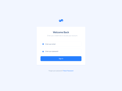 Login / Sign in blue minimal clean yonke sign in form sign in page sign in ui sign in signin log in screen log in form log in page log in login design login screen login form login page login