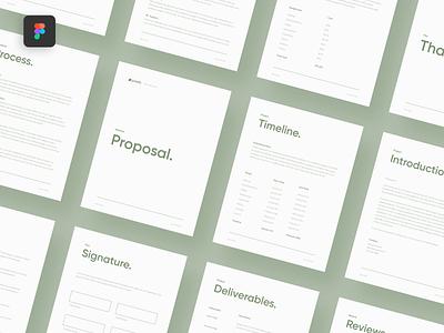 My Figma Website Proposal Template 👍 website minimal clean yonke template design templates proposify proposals proposal template proposal design proposal template figma