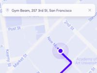 Map navigate