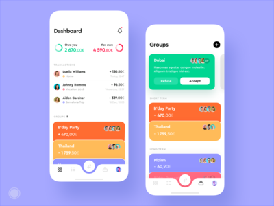 Group expenses app