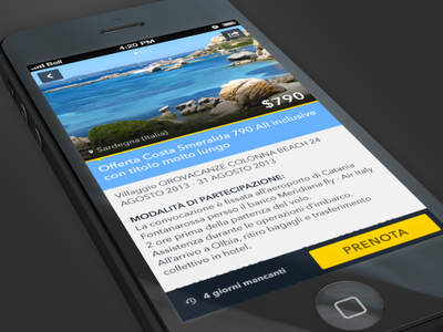 Travel App iphone app deals travel
