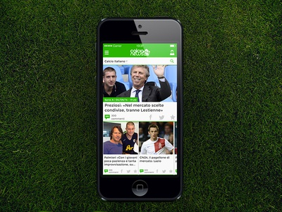 Newsfeed for calcionews24 soccer home page