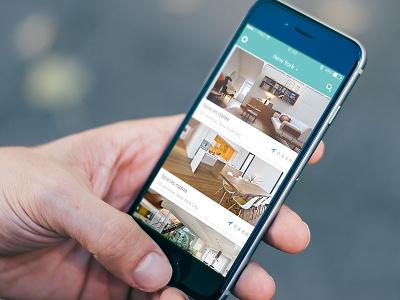 List view view flow clean apartment simple list-view catalogue ui widget app list flat