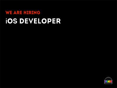 We are hiring - i0s Developer developer agency hire hiring ios