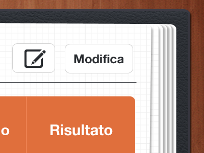 UI iPad App - Table mobile table pattern wood ui ipad