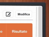 UI iPad App - Table