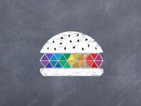 Pane&Design Logo symbol hand drawn effect