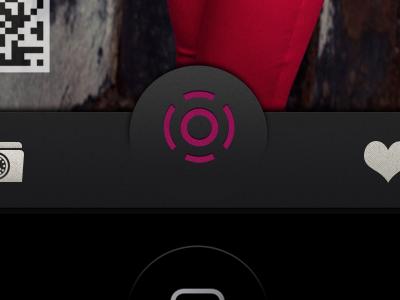 Big push button tab bar app tab bar iphone 5 tab bar iphone tab bar tab bar inspiration