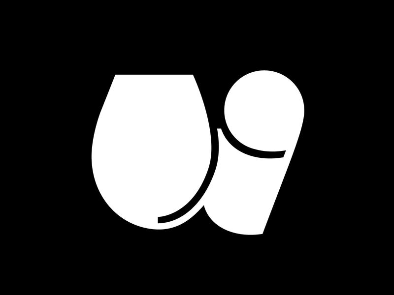 Letter w chunky bold glyph letterform femmetype vector graphic design design lettering 36 days of type typography adobe illustrator