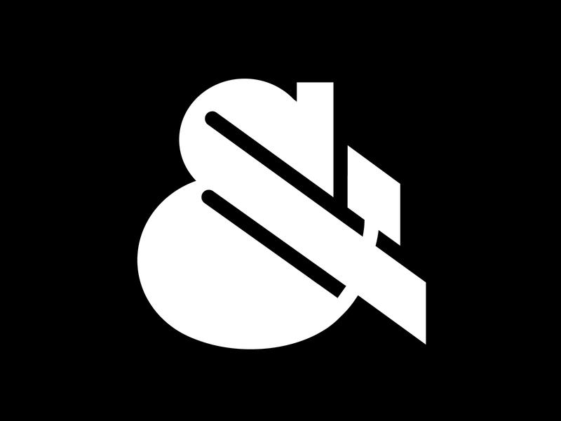 Ampersand glyph design vector femmetype chunky bold visual ampersand challenge 36 days of type typography adobe illustrator