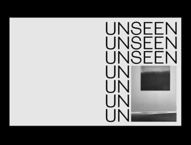 Lockdown Zine – UNSEEN lockdown unseen publication zine conceptual layered editorial design graphic design editorial photogrpahy typography adobe