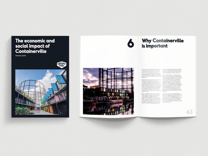 Containerville • Editorial Design containerville cover print publication publication spreads editorial layout editorial design graphic design