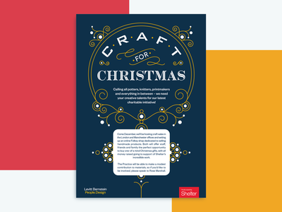 Craft for Christmas Poster