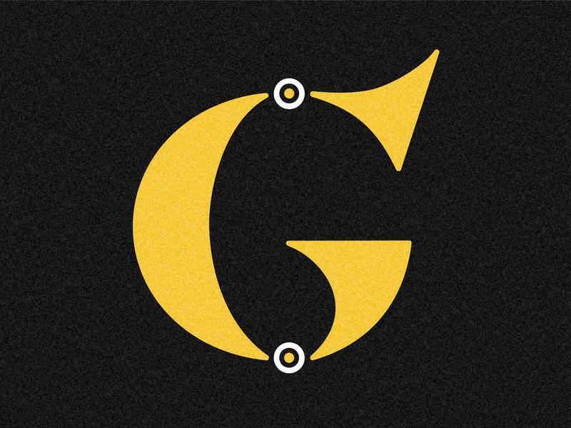 Letter G letter g 36 days drop cap challenge 36 days of type lettering design typography adobe illustrator