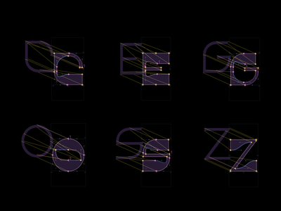 Design process – variable font Stories process variable font typography typeface type design stories we tell glyphsapp glyphs research letter experimental type