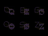 Design process – variable font Stories