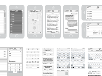 Free iPhone Vector Wireframing Toolkit
