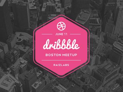 Boston Dribbble Meetup