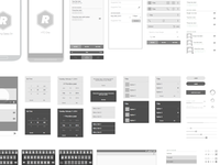 Free Android Vector Wireframing Toolkit free android kitkat vector wireframes wireframing template toolkit frame blueprint kit kat