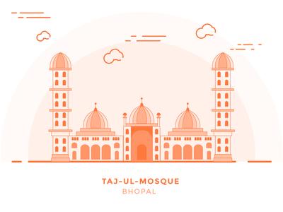 Taj-ul-mosque