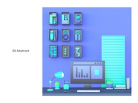 Abstract Workstation 02
