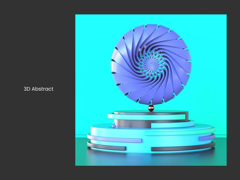 Abstract Art 04 c4dfordesigners c4dart designers designer wheel visualization photoshop vector web landingpage prints abstract design 3d renders octanerender c4d cinema4d illustration