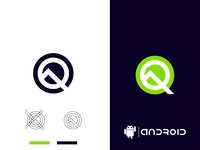 Android Latest Version Android Q Logo Design android 10 quiz android google artwork logo dribbleartist typography illustrator design vector illustration branding