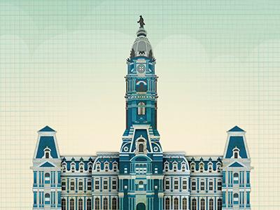 City hall dribbble