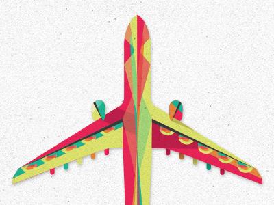 Plane plane vector illustration