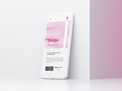 Design Awards vector ux app mobile app logo award awards design awards brand identity branding ui design mobile