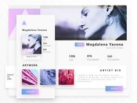 User Profile - DailyUI 006