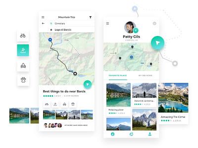 Location Tracker daily ui challange invision mobile app app daily 100 challenge daily ui ui design mobile location app dailyui 020 dailyui location tracker location