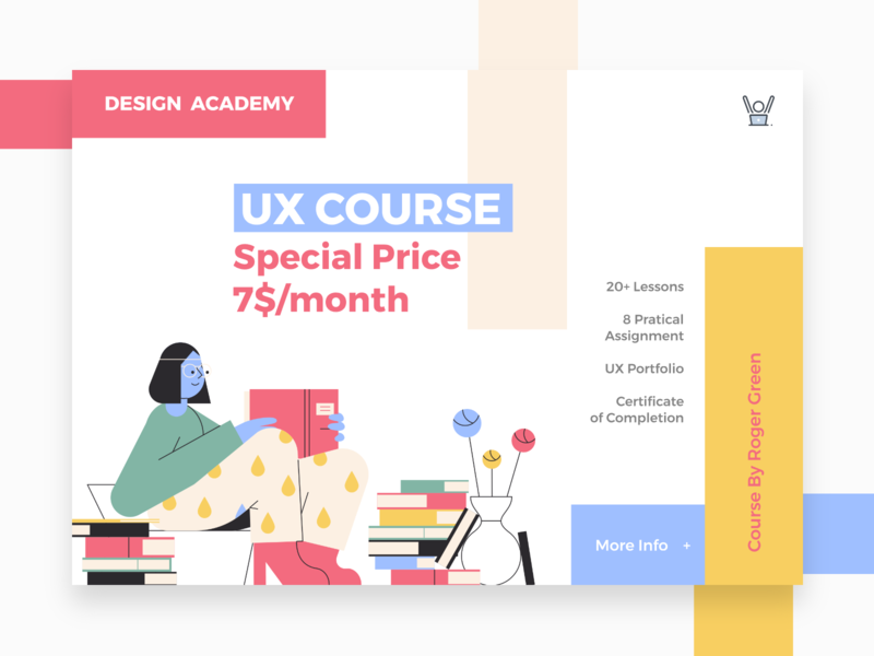 Special Offer - Daily UI #036 colorful colorful design courses course ux designer ux course ux ui design dailyui 036 daily ui 036 daily ui challange daily ui invisionapp daily 100 challenge ui design dailyui daily special offer