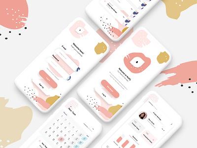ToDo App mobile dribbble todo list todo app todolist note ui design uidesign designer design application app design app todo